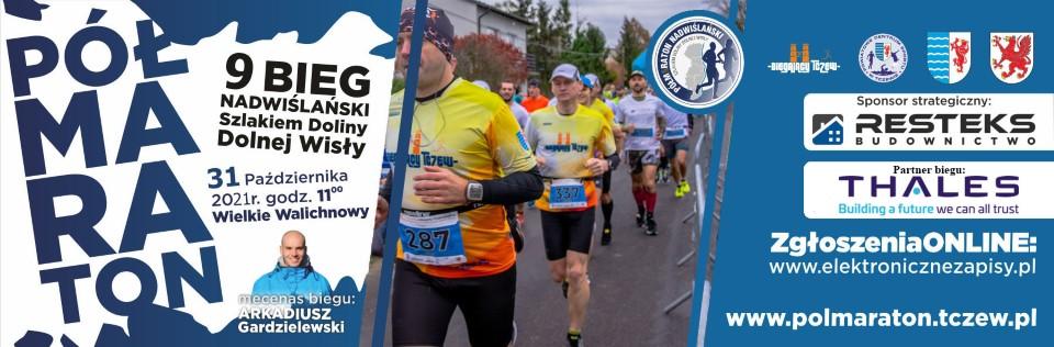 9 Półmaraton Nadwiślański Szlakiem Dolnej Wisły